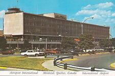 International Airport Terminal Dorval MONTREAL Quebec Canada Postcard