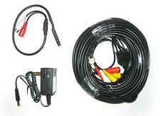 Complete Microphone Kit for CCTV Security System, 65'