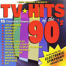 Tv Hits of the '90s Electronic Symphony Orchestra Cd New Sopranos Baywatch