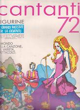 PANINI ALBUM FIGURINE CANTANTI 72