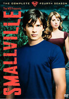 Smallville - The Complete Fourth Season (DVD, 2005, 6-Disc Set) Brand New Sealed