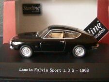LANCIA FULVIA SPORT 1.3S 1968 BLACK STARLINE 560238 1/43 NOIR SCHWARZ NOIRE