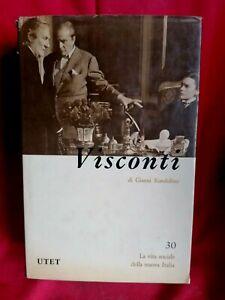 GIANNI RONDOLINO Luchino Visconti 1981 UTET Prima edizione