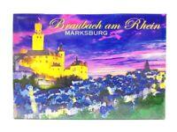 Braubach Rhein Marksburg Foto Magnet Germany 8 cm Reise Souvenir