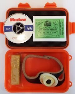 Sailmakers Repair Kit Inc 5 Needles RH Palm, Wax, Whipping Twine In A Sealed Box