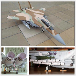 DIY Brand New 1/32 Scale F-15I Eagle Fighter Plane 3D Paper Model Puzzle Kit