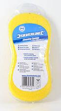 Genuine Silverline Yellow Car / Van / Motorcycle Cleaning Sponge - Free P&P