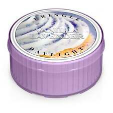 Kringle Vanilla Lavender Daylight Candle 160128#0045-017100 Large Tea Light