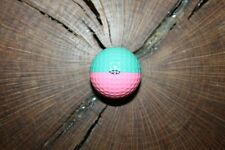 VINTAGE BABY BLUE AND LIGHT PINK PING GOLF BALL MUST SEE !!!!  RARE!!!