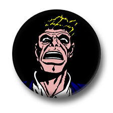 Scary Guy 1 Inch / 25mm Pin Button Badge Scared Comic Book Lawyer Gangster Fun