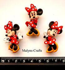 Disney MINNIE MOUSE Craft Buttons 1ST CLASS POST Mickey Novelty Cartoon Animal