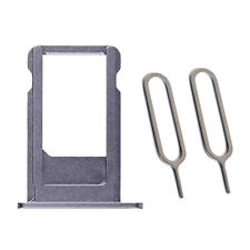 Grey Sim Tray Card Holder Plus 2 Eject Pins For iPhone 6S