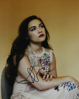 Florence Pugh Signed Sexy 10X8 Photo AFTAL COA (B)