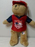 St Louis Cardinals MLB Genuine MerchandiseTeddy Bear Stuffed Plush Cap
