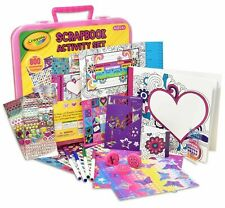 Crayola Art Activity Set, Mess Free Craft Kit for Kids, Washable Markers