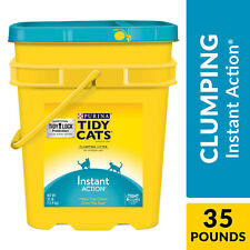 Purina Tidy Cats Clumping Cat Litter, Instant Action Multi Cat Litter, 35 lb.