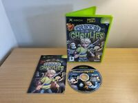 XBOX ORIGINAL - GRABBED BY THE GHOULIES - COMPLETE WITH MANUAL - FREE P&P