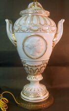 Antique KPM Berlin URN as LAMP Neo Classic Empire Regency Greek Gold CHIC