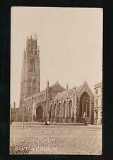 Lincolnshire Lincs BOSTON Church RP PPC Used 1905