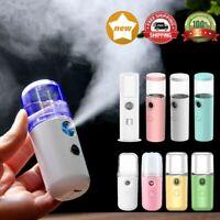 30ml Mini Pore Facial Steamer Nano Cool Mist Face Sprayer Moisture Skin Care US
