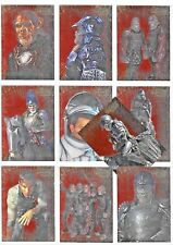 PLANET OF THE APES MOVIE EMBOSSED FOIL  CARDS   F1 TO F10 BY TOPPS CHOOSE