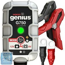 NOCO Genius G750 6V / 12V 750mA Amp Smart Battery Charger & Maintainer