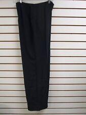 QVC Dialogue Black Dress / Career Pants Size 8 - NWT