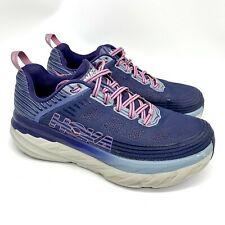 Hoka One One W Bondi 6 Women's Purple Running Shoes 1019272 Size 9.5 Wide