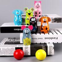 Prettyia Wood Mini Skittles Bowling Set Child Toy -6 Bowling Pins & 2 Balls