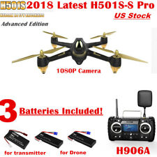 Hubsan X4 H501S PRO Drone 5.8G FPV Brushless RC Quadcopter 1080P Follow Me GPS