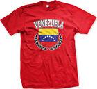 Venezuela Shield Crest Coat Of Arms Venezuelan Country Born From Men's T-Shirt