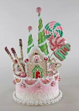 Katherine's Collection Sweet Christmas Cake Tree Topper 28-828355 New