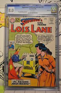 Superman's Girlfriend Lois Lane #35 CGC 8.0 Double Cover 1965 Rare 1/1?