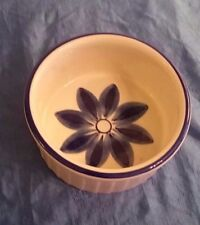 Viana Du Castelo Vintage Bowl Ceramic Crock Hand Painted Made in Portugal