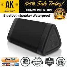 Black Portable Bluetooth Speaker 10 W Water Resistant Stereo Sound 100 Ft Range
