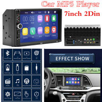 7 Inch 2 Din WINCE Car Bluetooth Stereo Touch Screen FM Radio MP5 Player RCA AUX