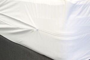Fully Encased Zipped Mattress/Pillow Protectors Waterproof Antibacterial