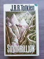 J.R.R. Tolkien The Silmarillion. First American Printing. 1977. With Map.