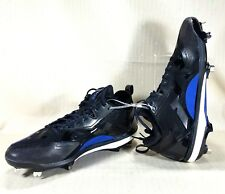 Adidas Boost Icon 2.0 Metal Baseball Cleats Men's Size 12.5 Black & Blue Q16526