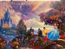 Thomas Kinkade Cinderella Disney 750 Piece Jigsaw Puzzle New
