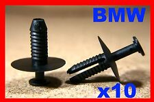 10 BMW series E46 bumper fender fascia panel trim fastener rivet clip front rear