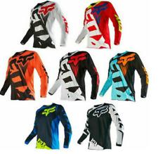 FOX Racing 180 Riding Jersey T-shirts Men Motocross/MX/ATV/BMX/MTB Dirt Bike