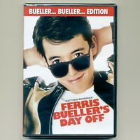 Ferris Bueller's Day Off 1986 classic PG-13 comedy movie, new DVD, M. Broderick