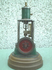 LARGE VINTAGE  LIVE STEAM STATIONARY ENGINE