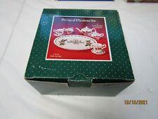 "1995 ""A CUP OF CHRISTMAS TEA"" 10 PIECE MINI TEA SET, CT133 IN ORIGINAL BOX"