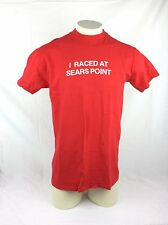 I Raced At Sears Point 1978 Nascar Winton West 100 T Shirt Size XL Made in USA