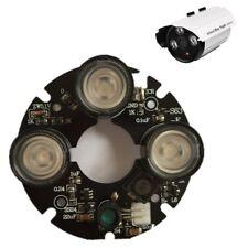3pcs Array Ir Led Spot Light 850nm Infrared Board for Cctv Bullet Camera 53mm Di