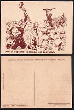 CARTOLINA POSTALE AD USO DELLE TRUPPE ITALIANE IN AFRICA ORIENTALE NUOVA BELLA