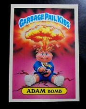 GPK Garbage Pail Kids Giant OS1 1st Series #8 Adam Bomb Glossy Back Sticker/Card