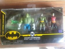 DC The Caped Crusader Swamp Showdown Killer Croc, Batman, Robin NEW 2020